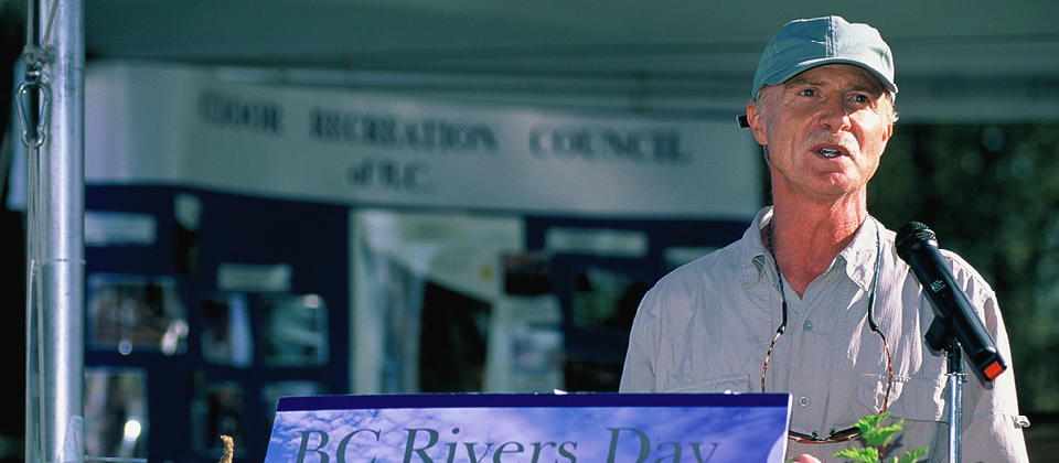Mark Angelo, founder of BC Rivers Day and World Rivers Day