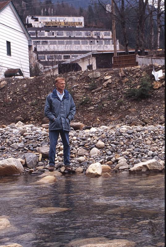 Mark Angelo at Britannia Creek